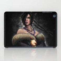 Final Fantasy X Lulu Painting Portrait iPad Case