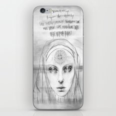 St. Benedict Ghost iPhone & iPod Skin