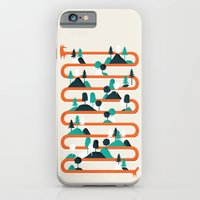 iPhone Cases featuring Foxy stripes by Robert Farkas