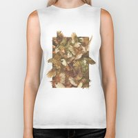 Red-Throated, Black-capped, Spotted, Barred Biker Tank