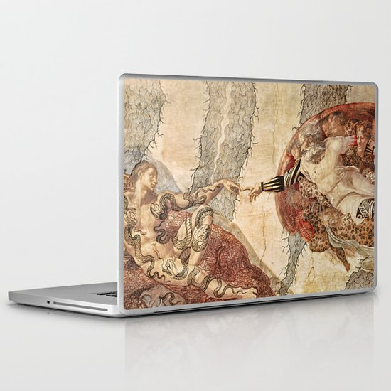 Angel Touch. Laptop & iPad Skin