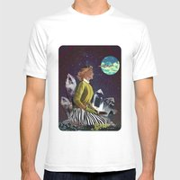 Gardening Mens Fitted Tee White SMALL