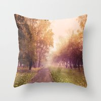 (It's) Just A Way Home..… Throw Pillow