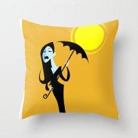 Cast no shadow Throw Pillow