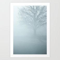 Tree / Winter Silence Art Print