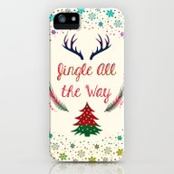 Christmas iPhone (5, 5s) Slim Case