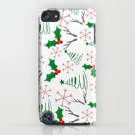 Christmas Pattern iPod touch Slim Case
