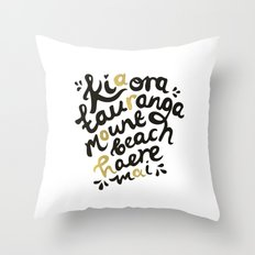 Aroha Throw Pillow