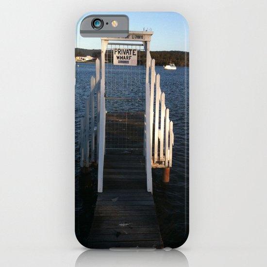 Wharf Walk iPhone & iPod Case
