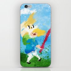 I'm all about swords! iPhone & iPod Skin
