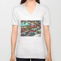 This Place is a Zoo! Unisex V-Neck