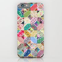 iPhone & iPod Case featuring Betty's Diamond Quilt by Rachel Caldwell