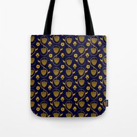 Tail bones wallpaper Tote Bag