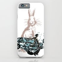 Rabbit In Your Headlights iPhone 6 Slim Case