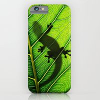 iPhone & iPod Case featuring Lizard by Nicklas Gustafsson