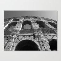 Roman Architecture At It… Canvas Print