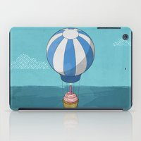 Flying Cupcake iPad Case
