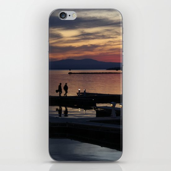 Champlain Dusk iPhone & iPod Skin