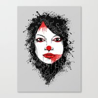 The Harlequin Canvas Print