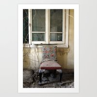 Whore Chair Art Print