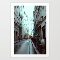 Avenues & Alleyways Art Print