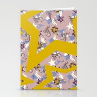 Star Scarf  Stationery Cards