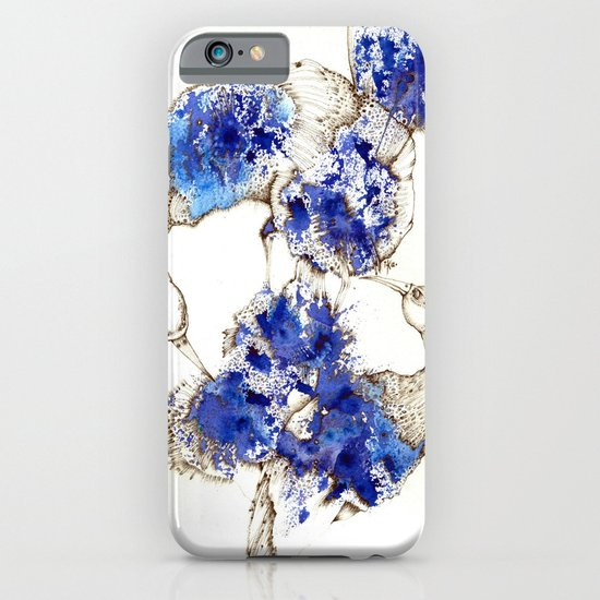 Oiseaux Bleu iPhone & iPod Case