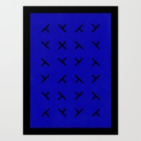Hidden X Art Print