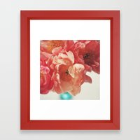 Paeonia #5 Framed Art Print