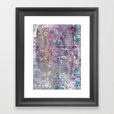 sentimental journey Framed Art Print