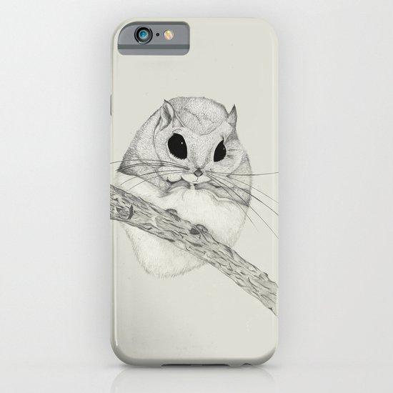 Fuzzball-gray iPhone & iPod Case