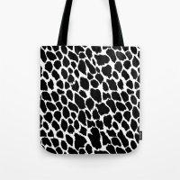 Leopard Polka Tote Bag