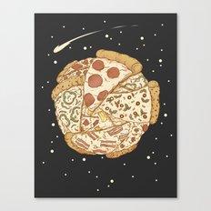 Pizza World Canvas Print