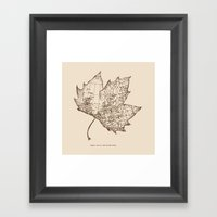 Travel With The Wind Framed Art Print