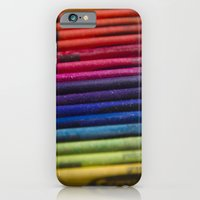 iPhone & iPod Case featuring Crayons: Out of the Box! by Shawn King