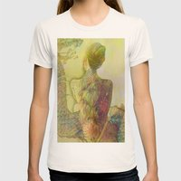 The guard of the eternal dragon Womens Fitted Tee Natural SMALL