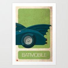 Batmobile 89 part III of III Art Print