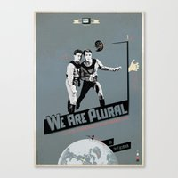 WeArePlural Canvas Print