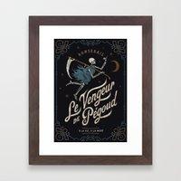 Le Vengeur De Pégoud Framed Art Print