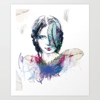 Plum' Art Print