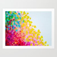 CREATION IN COLOR - Vibr… Art Print
