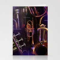 The Trumpet Glow Stationery Cards