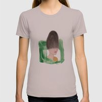 Science fiction Womens Fitted Tee Cinder SMALL