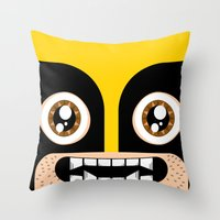 Adorable Wolverine Throw Pillow