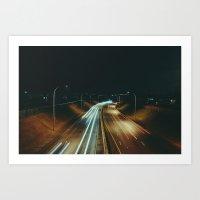 Nordel Way Art Print
