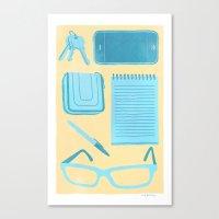 Friendly Reminder Canvas Print