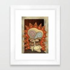 Harlan finds himself Framed Art Print