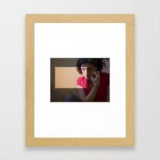 cropped. Framed Art Print