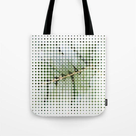 mesh white Tote Bag