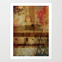 LOLITA : HIDING// Art Print